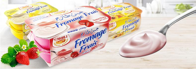 Fromages frais tassili