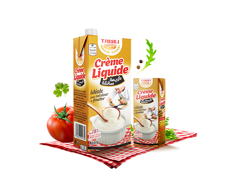 Crème fraiche liquide