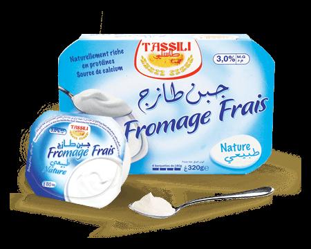Tassili fromage frais nature