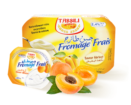 Tassili Fromage frais saveur abricot