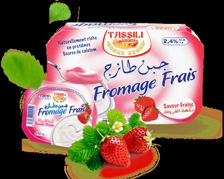Tassili Fromage frais saveur fraise
