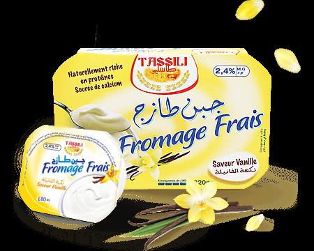 Tassili Fromage frais saveur vanille
